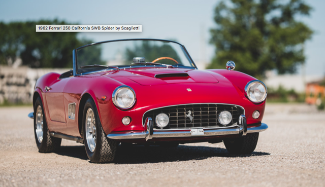 1962 Ferrari 250 GT California Spider