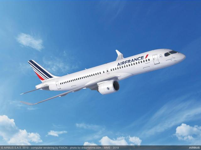 Evolution Order For Airbus A220