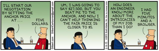 Anchoring portfolio returns