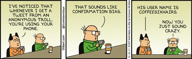 Confirmation bias portfolio returns single factor