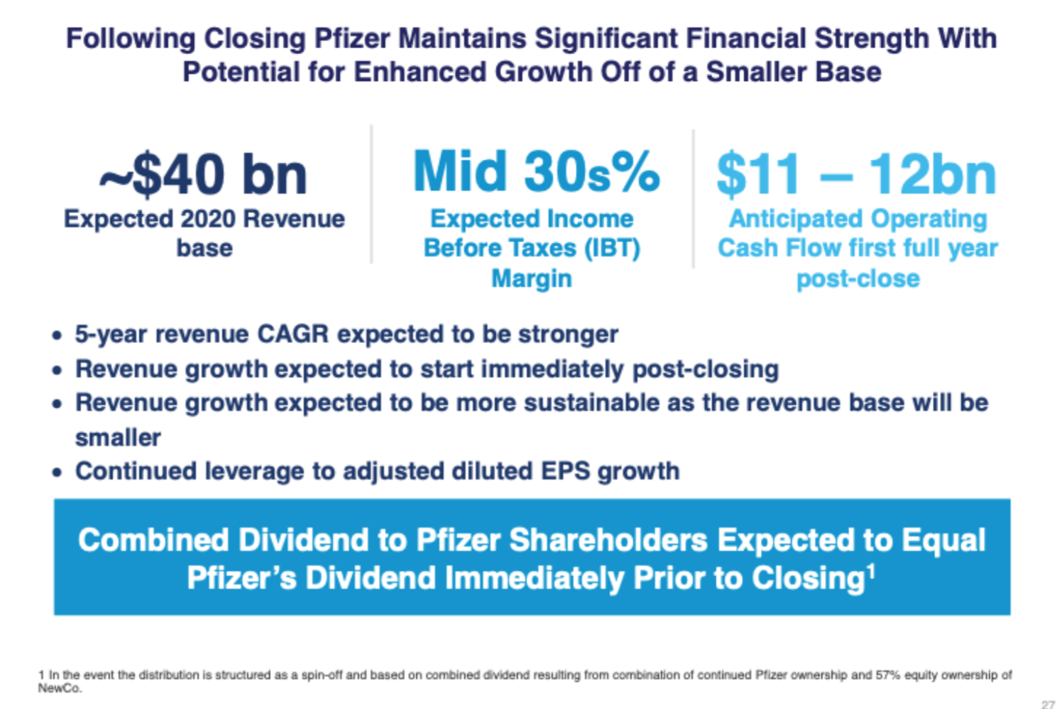 Pfizer S Dividend Confusion Is Likely To Create Opportunity Nyse Pfe Seeking Alpha