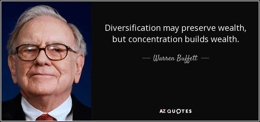 The Delicate Art Of Balancing Diversification And Concentration