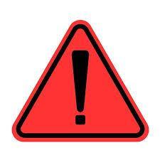 Image result for exclamation mark danger
