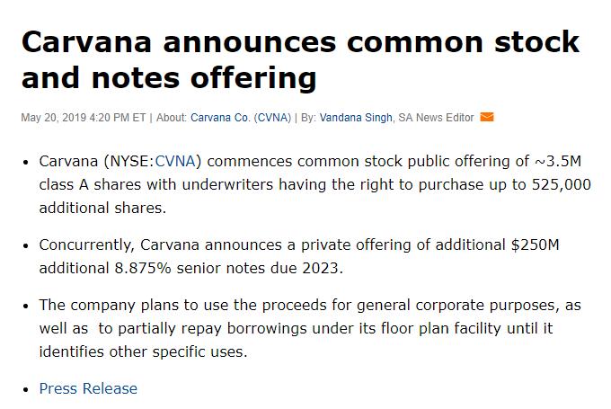 A Structurally Unprofitable 'Tech' Company - Carvana