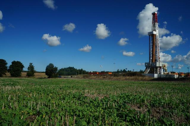 Oil gas rig