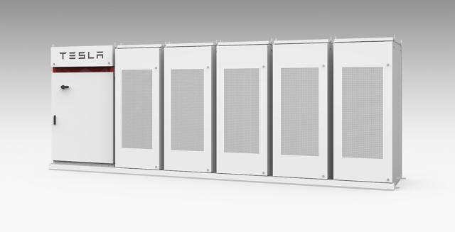 Tesla PowerPack energy storage system
