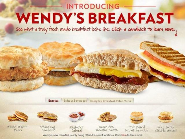 Wendy's: Wait For Breakfast To Play Out