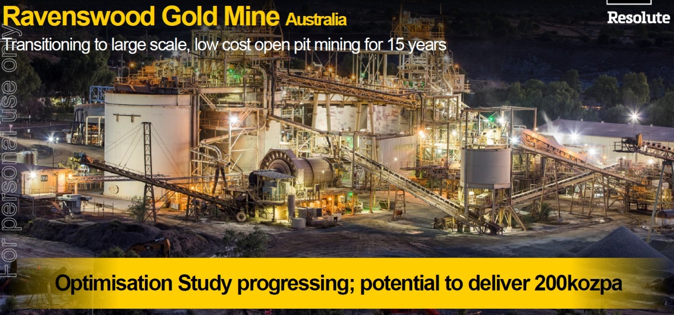 Resolute Mining: 400,000 Ounces Of Gold At A Production Cost