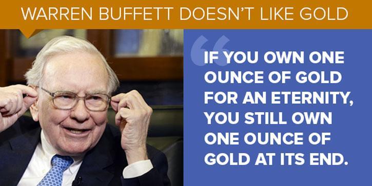 Look Which Precious Metal Is Beating Warren Buffett.