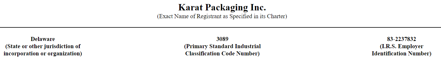 Karat Packaging IPO: We Are Positive About Sales In 2020
