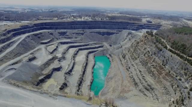 quarry, mine