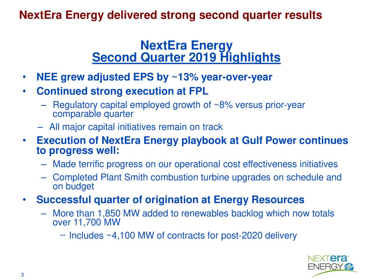 NextEra Energy: Buy For Renewable Energy Growth In The Electric Utility Business