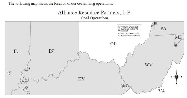 alliance coal trading llc