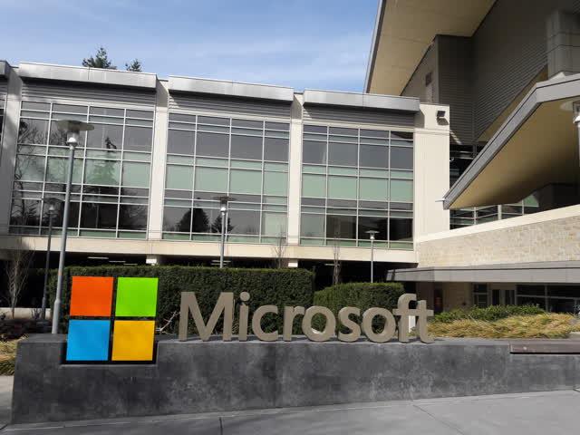 Microsoft: It's Go Time - Microsoft Corporation (NASDAQ:MSFT)   Seeking Alpha