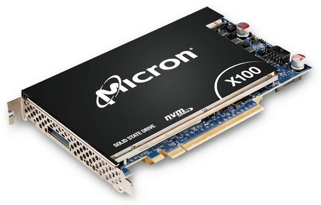 Micron X100 3D Xpoint Memory