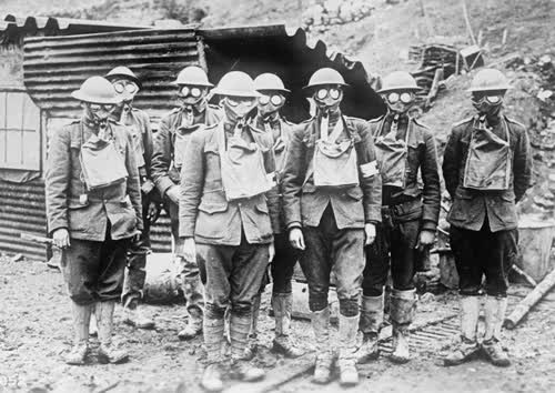 Allied Soldiers in WWI