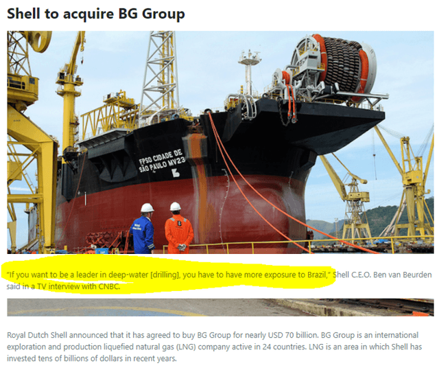 RDS BG acquisition – Source: Fuels and Lubes