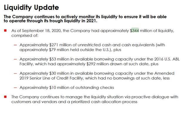 Rev Liquidity Update
