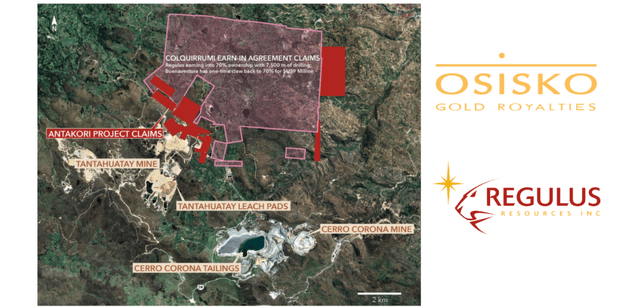 The royalty agreement between Osisko Gold Royalties and Regulus Resources is beneficial to both.
