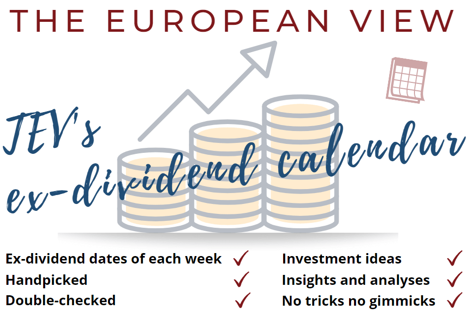 The European View TEV Blog Ex-dividend Dates