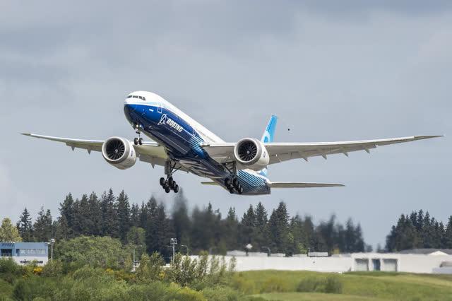 Boeing 777X reach forward loss