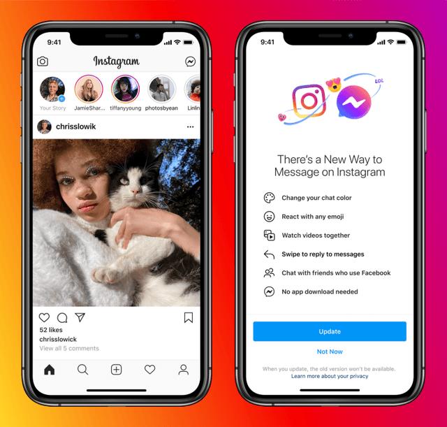 Messenger and Instagram integration