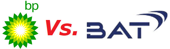 BP & British American Tobacco logos