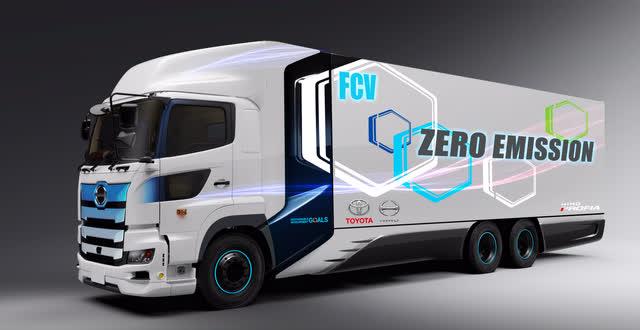 Toyota/Hino FCEV truck
