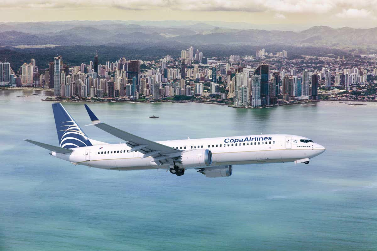 Copa Airlines presents new MAX 9 plane and commences new