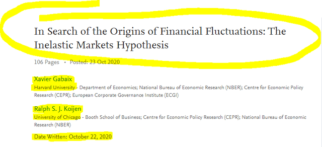 The Inelastic Markets Hypothesis: In Search of the Origins of Financial Fluctuations - Source: SSRN