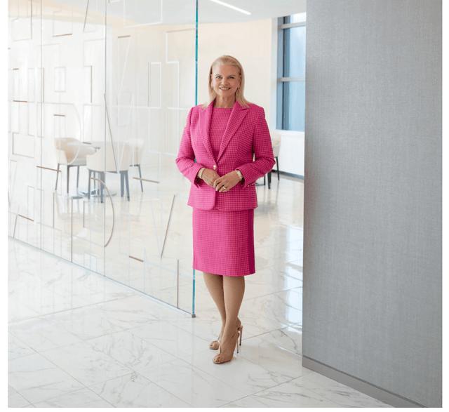 IBM CEO Rometty – 2012-2020 – Source: IBM Annual report