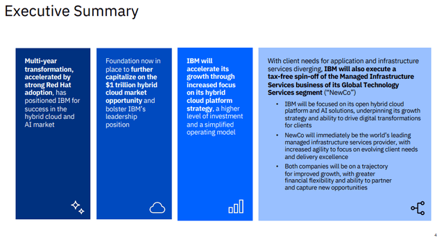 IBM stock analysis – strategy – Source: IBM investor relations