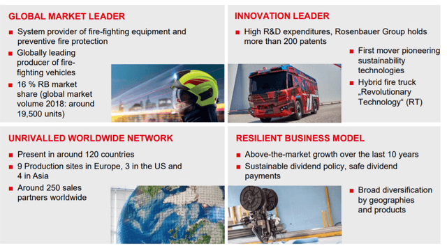 Rosenbauer' s Equity story – Source:Q3 report 2020