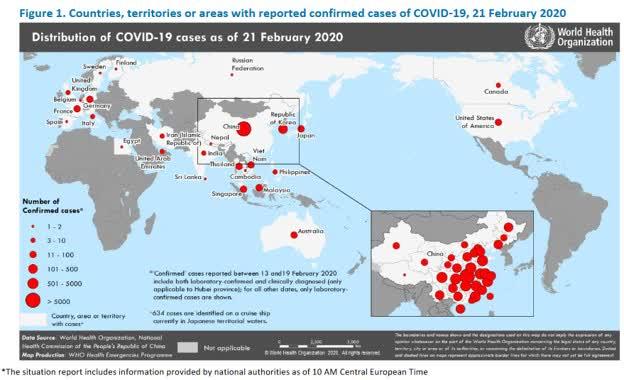 coronavirus global map 2020