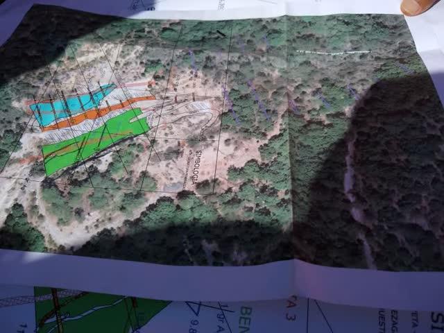 Impact Silver Veta Negra Cross Cut Map