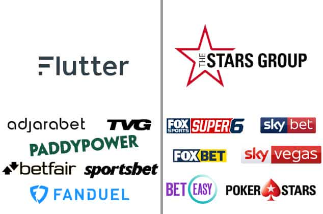 Flutter Entertainment Merges with Stars Group ...