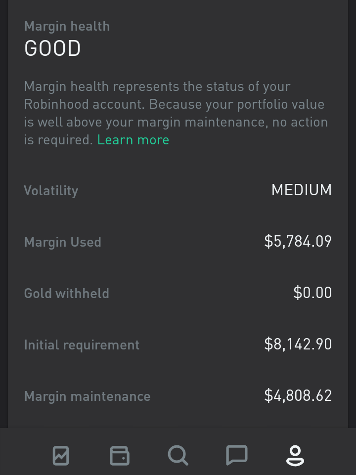 Why I Decided To Use Robinhood Gold And Margin Kody S Dividends Seeking Alpha