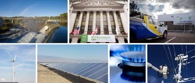 Algonquin has matured into a diversified utility with growing renewable power assets