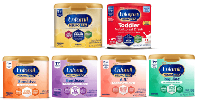 Enfamil family of products