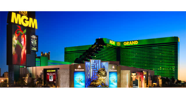 MGM, property rich in Las Vegas could provide rapid post virus ramp.