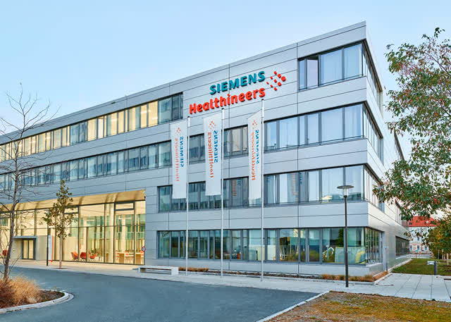 Healthineers headquarters in Erlangen, Germany