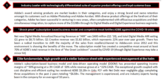 A Case For Adobe S Continued Outperformance Base Case Price Target 505 Nasdaq Adbe Seeking Alpha