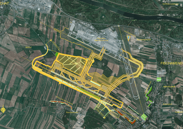 Vienna International Airport Stock Analysis – Third runway plan – Source: Vienna Airport
