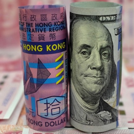 China has been buying USD as its become cheaper