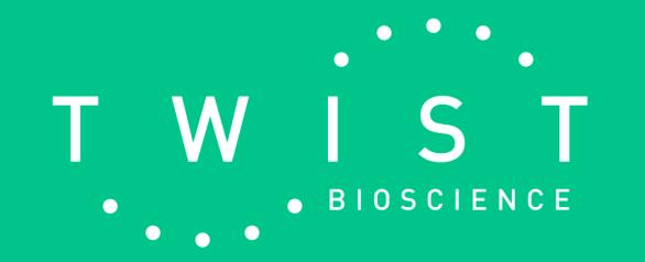 """TWST: Twist Bioscience """"Writing the Future"""""""