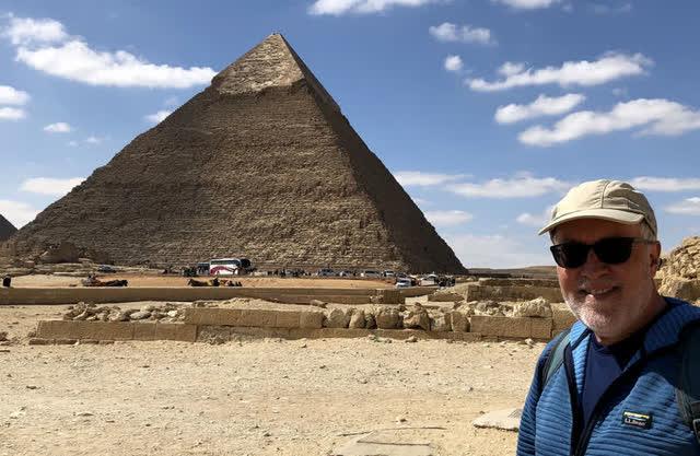 Dave at Great Pryamids of Giza