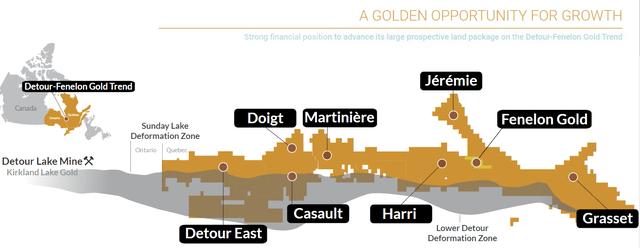 Wallbridge Mining Quebec Gold Project