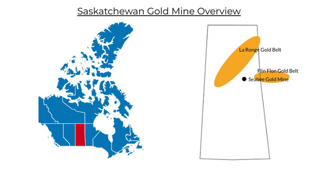Saskatchewan Gold Mine Locations