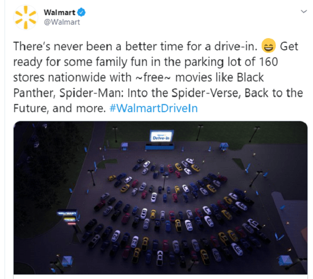 Walmart Unveils Drive In Theater Plan Nyse Amc Seeking Alpha