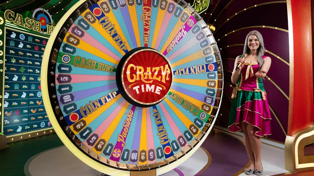 GET READY TO PLAY THE MOST FUN CASINO GAME EVER MADE! EVOLUTION GAMING PRESENTS CRAZY TIME! – Blue Ocean Gaming: Online Casino Platform Provider, Mobile Gaming Solutions